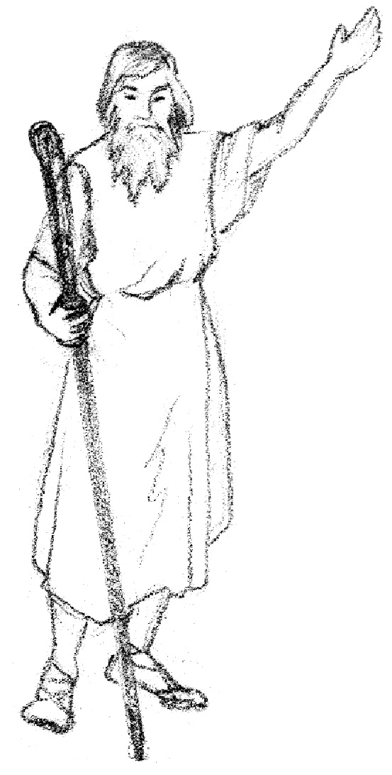 Old testament prophet cake ideas and designs for Prophet isaiah coloring page