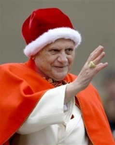 Holy Father red hat