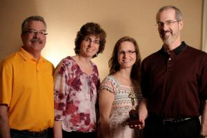 North Metro TV Award for Eucharist DVD - with Muellers and Gelineaus