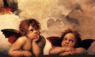 michelangelo angels