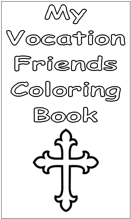 Catholic Vocations Coloring Pages