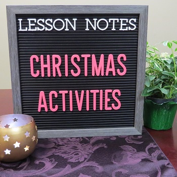 350 christmas activities