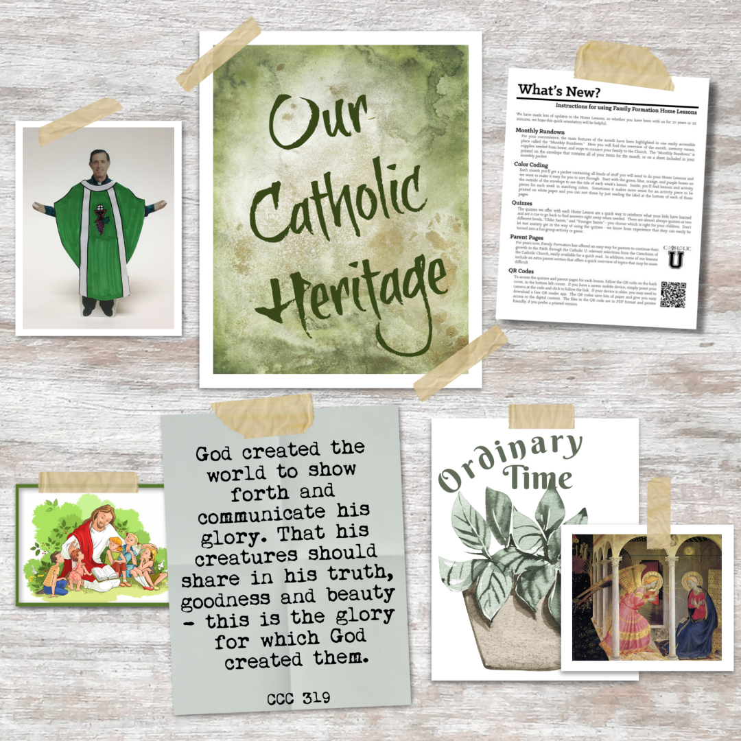 Our Catholic Heritage Notes 1080