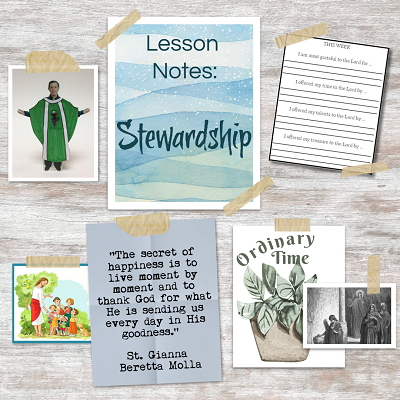 Stewardship Lesson Notes 400