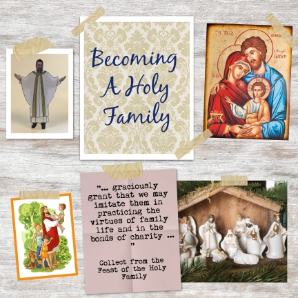 Becoming a Holy Family