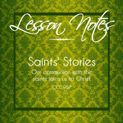 Saints Stories
