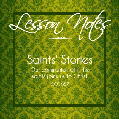 Saints Stories