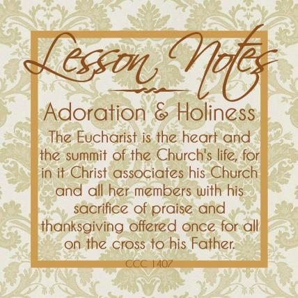 Adoration & Holiness