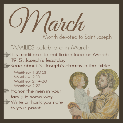 family march monthly devotion