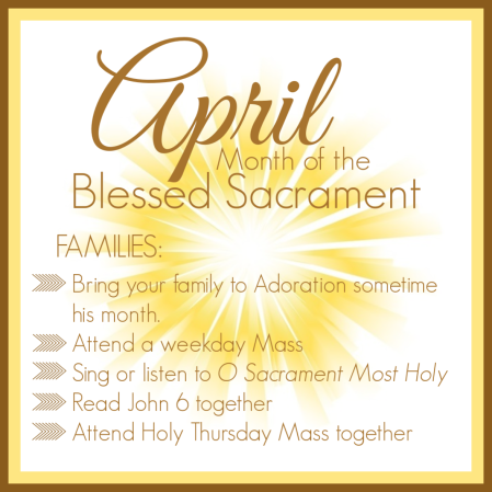 April Holy Eucharist