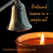 The profound beauty of lighting a candle (1)